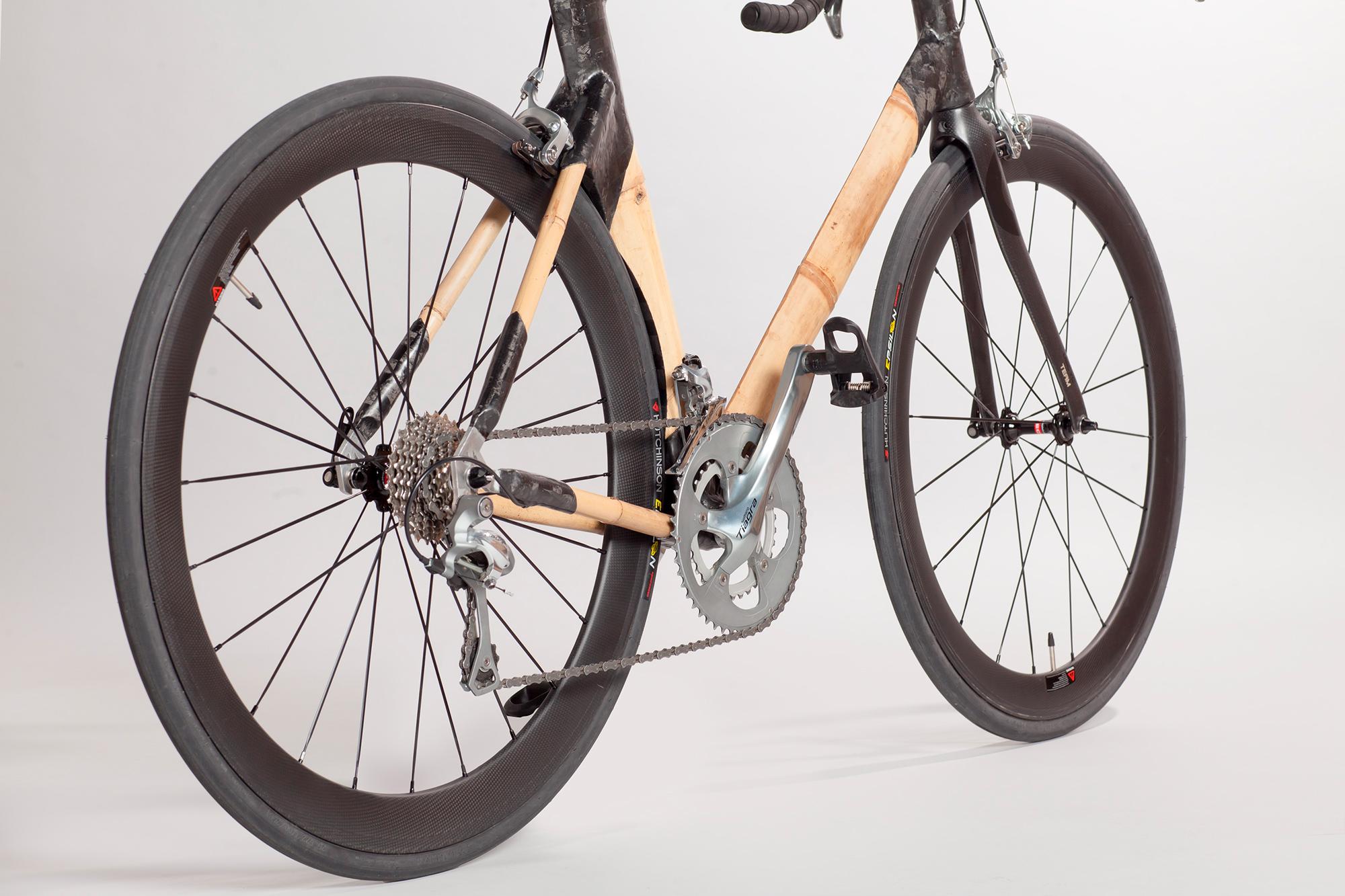 Bicicleta de bambú de BambooKoa